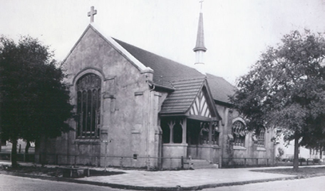 Original St. Philip's Building before the fire of 1901