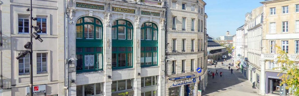 Immeuble de centre-ville à rénover à Niort