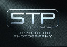 Commercial - Silver Letters Black Background