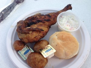 400 of the traditional Chicken Dinners were served on Saturday night.