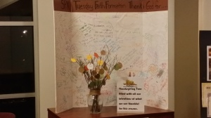 Come to the narthex to see what our young parishioners are thanking God for this Thanksgiving 2014.