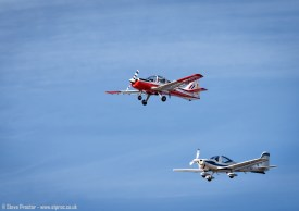 Bulldog & Tutor, Southport Airshow