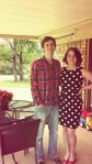 Bubba & I @ Easter at Aunt tishas