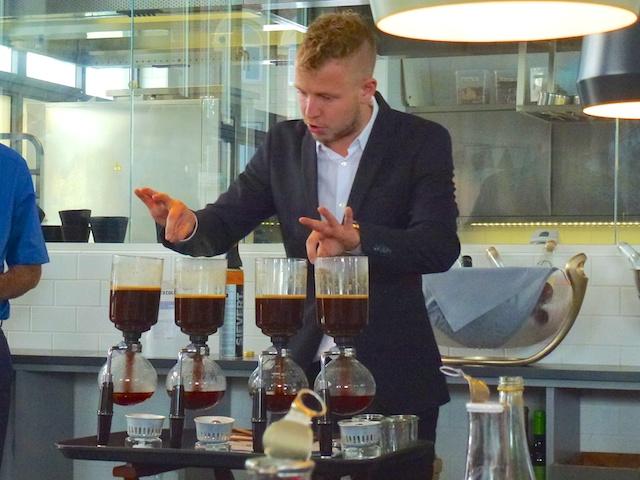 Koffie show