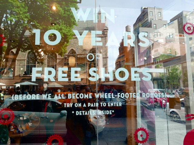 10 years free shoes