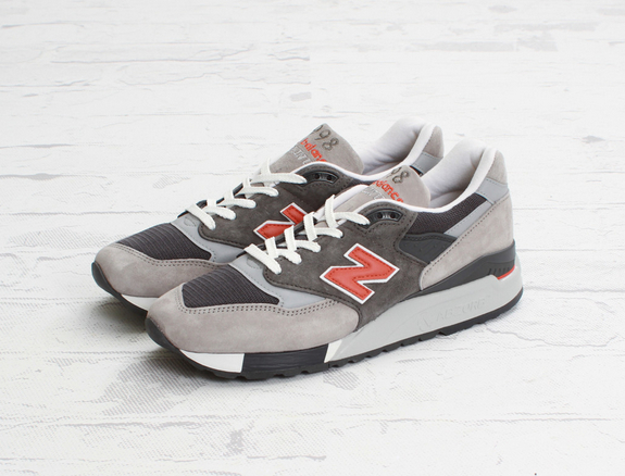New Balance M998GGO Orange Grey-1