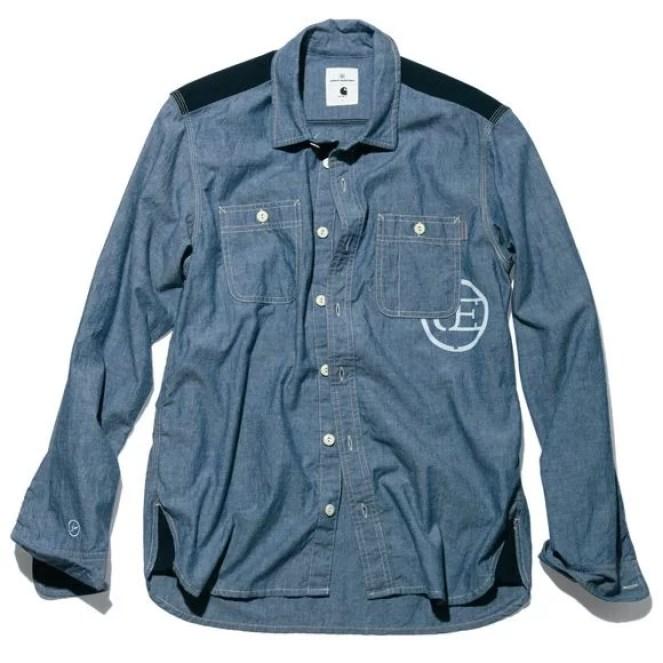 Carhartt WIP x UE L/S Clink Shirt (Release: 6 April)