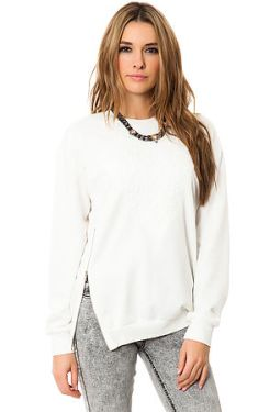 *MKL Collective - The Cozy Life Crew in White (US$30.95)