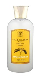 Geo. F. Trumper Skin Food in Sandalwood for dry skin (SG$50) for softening the skin before a shave and conditioning and calming sensitive and aggravated skin after a shave