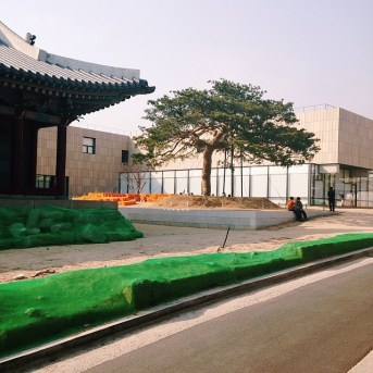 A little closer to home, this is Seoul's National Museum of Modern and Contemporary Art