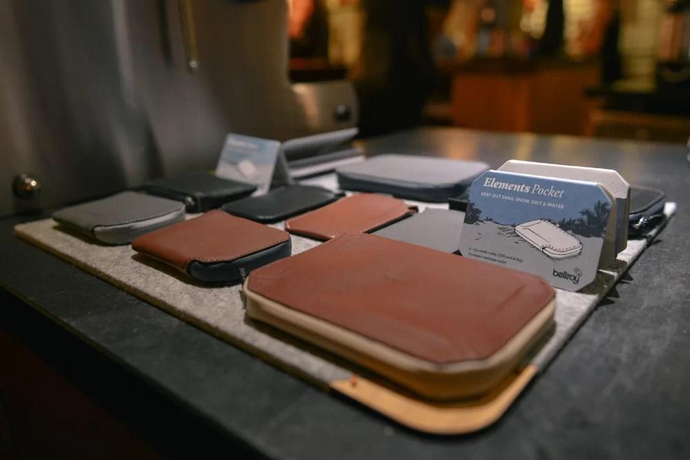 Bellroy Slim Leather Wallets