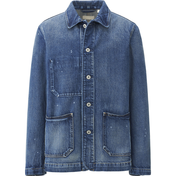 UNIQLO Denim Work Jacket (Men)