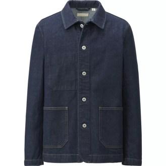 UNIQLO Denim Work Jacket (Men)