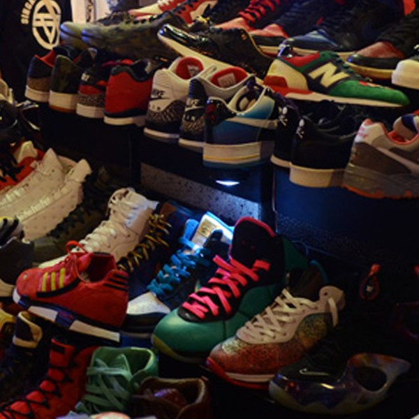 Sneakerheads learn to flex their kicks for the gram at #TSFRAWworkshop