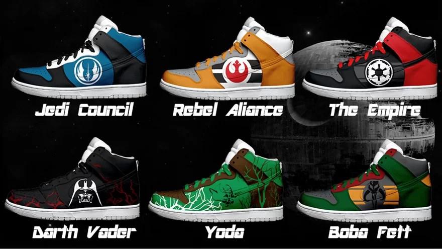 Best Custom Star Wars Sneakers on the