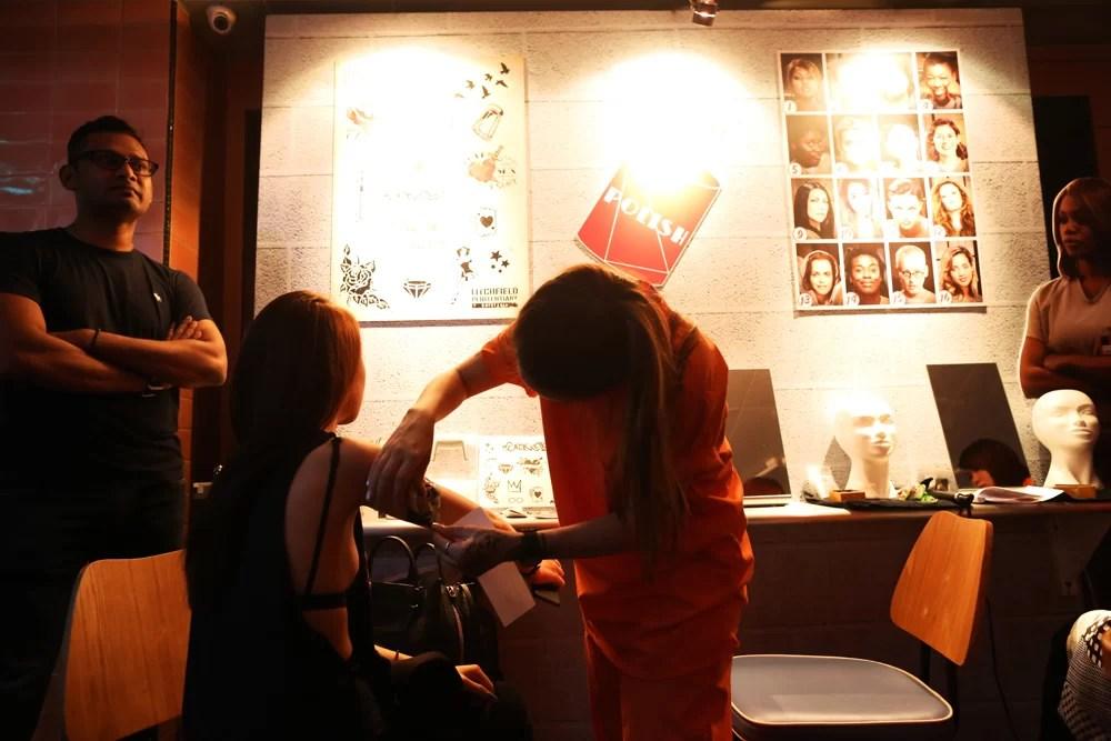 OITNB season 4 premiere Singapore: Litchfield Salon
