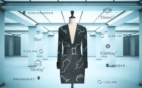 H&M and Google collaborate on the Data_Dress