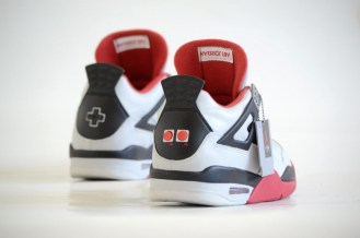 "The ""NES"" Air Jordan 4 by Freaker Sneaks"