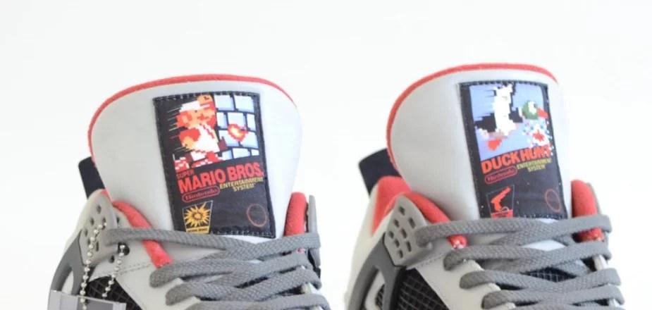 """The """"NES"""" Air Jordan 4 by Freaker Sneaks"""