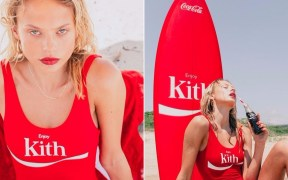 Take a Peek at the Kith x Coca-Cola Lookbook for Summer 2017.