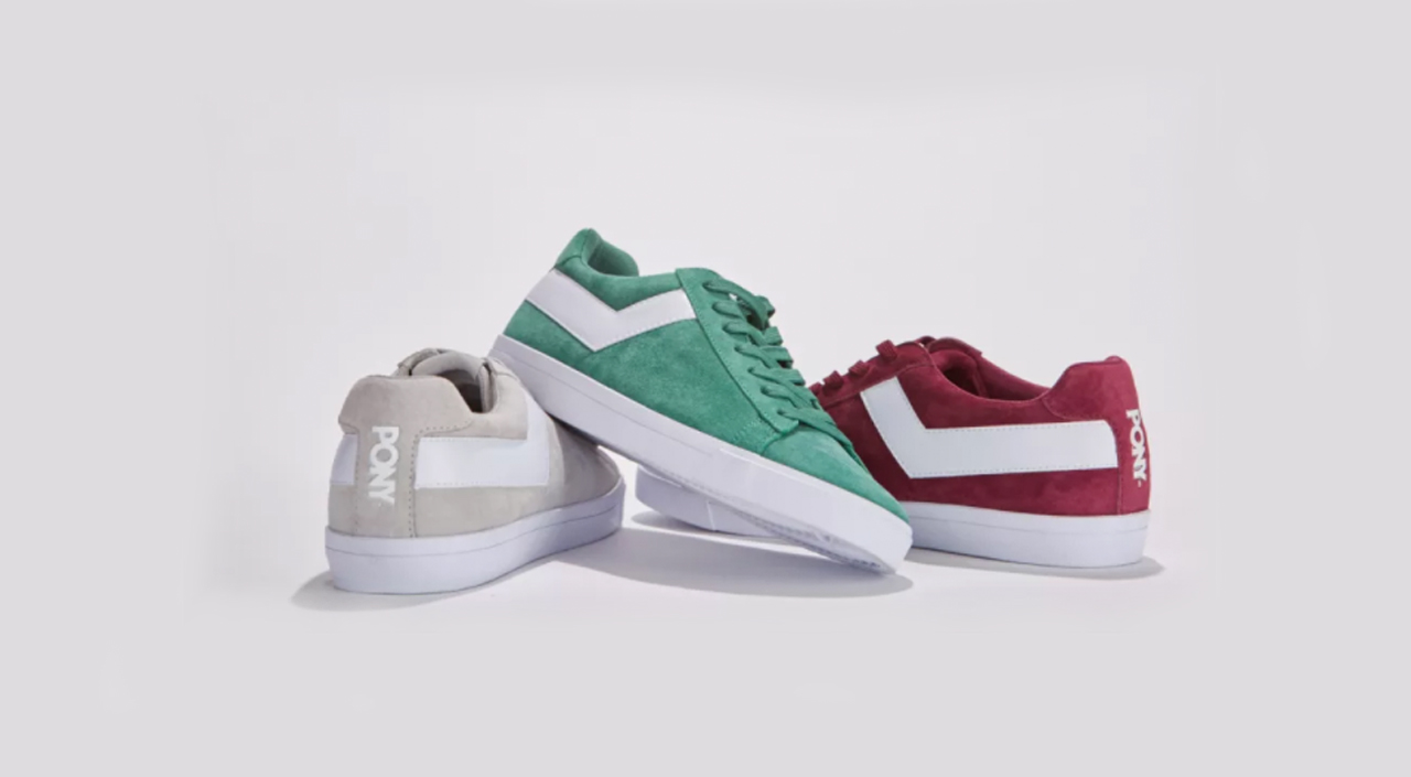 PONY Topstar Suede Sneakers are a Blast