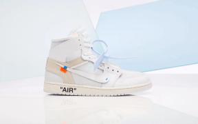 Off White x Nike Air Jordan 1 White Colorway
