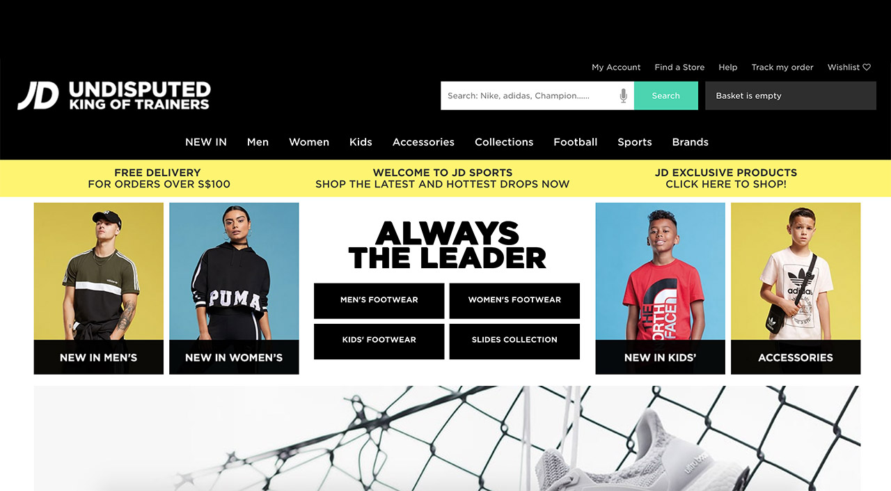 Jd Sports Singapore Online Store Now Live Straatosphere
