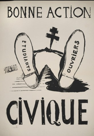 may 68 propaganda posters mindseeker inspiration