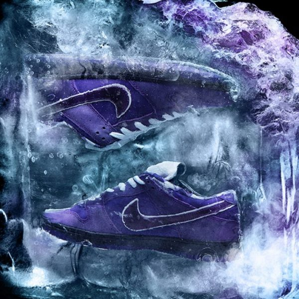 Get your bibs ready, Nike SB and Concepts are serving a Purple Lobster