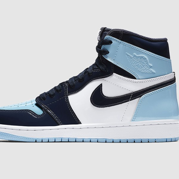 This will give you chills: The Air Jordan 1 Patent UNC Blue Chill will be re-released this week