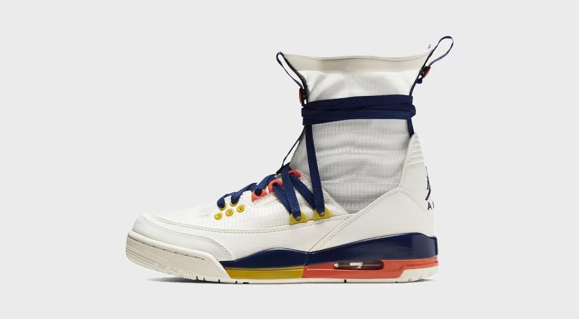 Air Jordan 3 Retro Explorer Lite XX footwear drops april