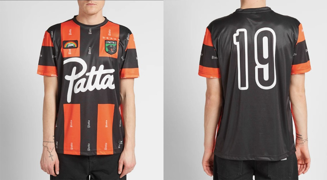 Patta SS19 Football Jersey collection 3