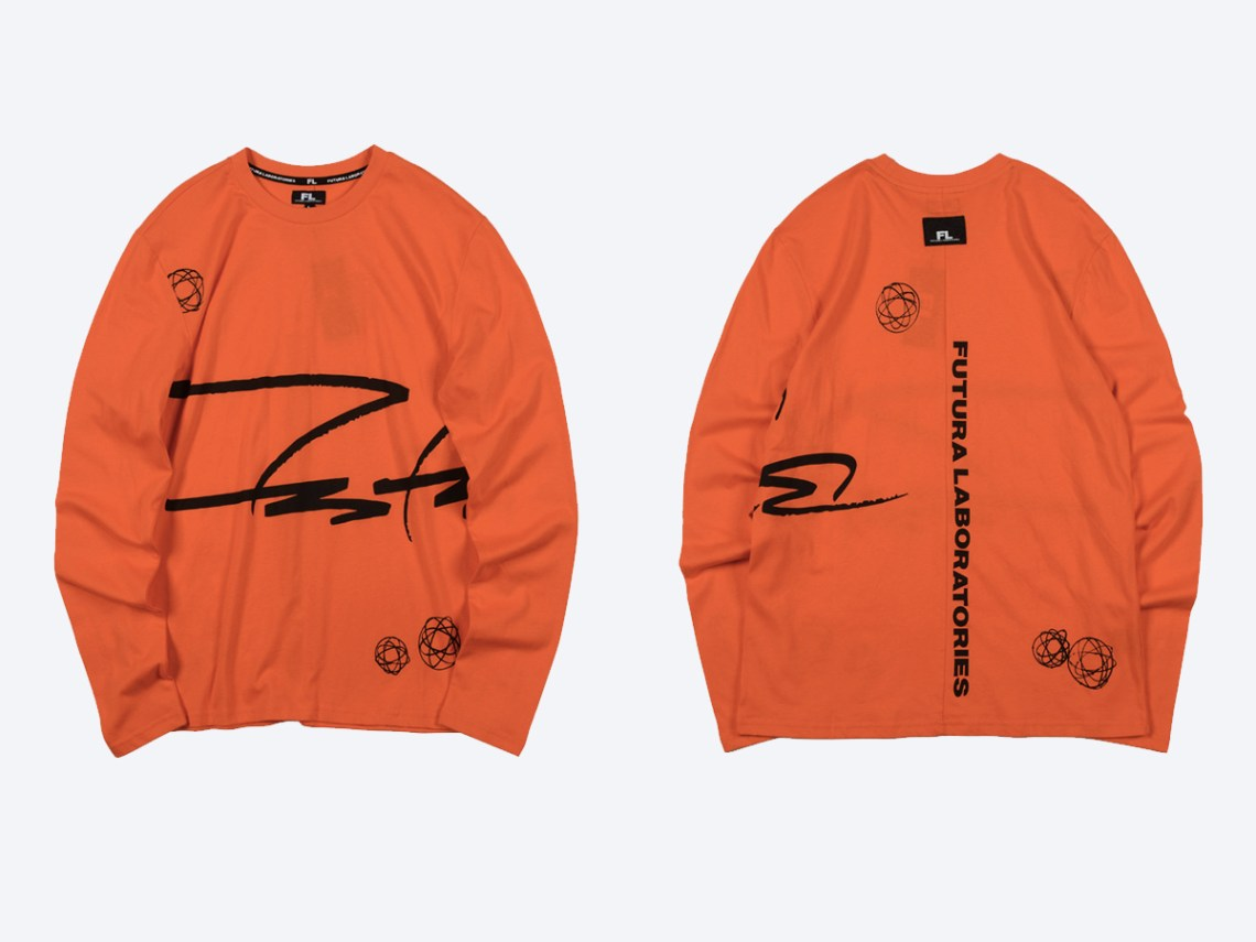 Futura Laboratories Singapore launch crewneck tee