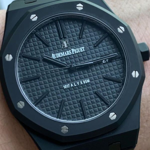 Matthew M Williams teases an Audemars Piguet timepiece fitted with Alyx's signature Rollercoaster Buckle