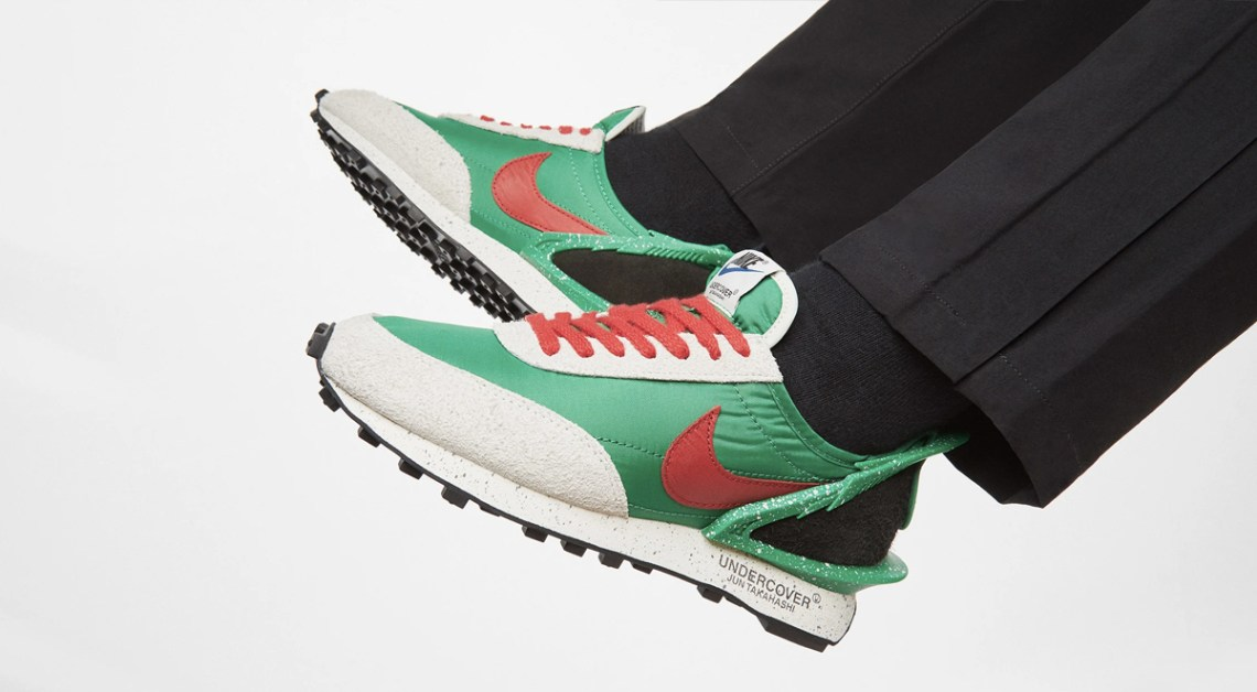 nike x undercover daybreak lucky green singapore end launches