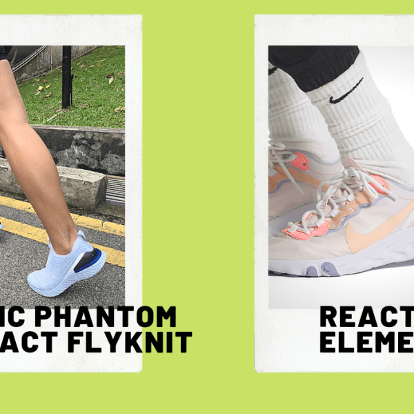 Two Nike React shoes, 24 hours: Putting the React to the test