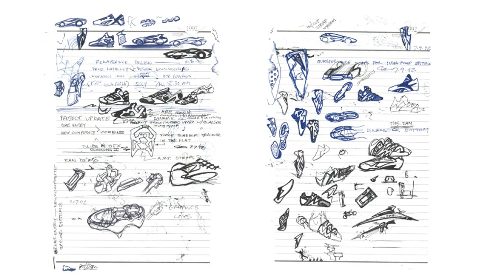 Steven Smith Interview scribles and sketches