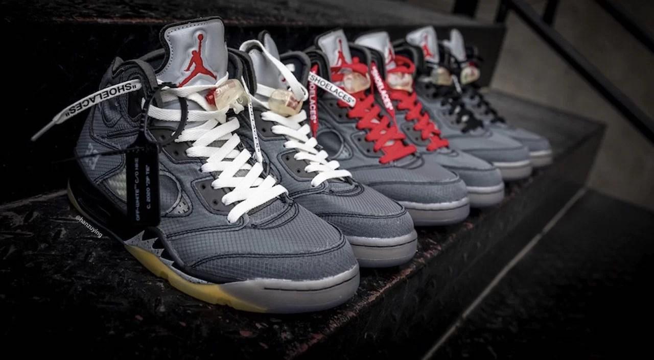 Off-White x Air Jordan 5: A Closer Look