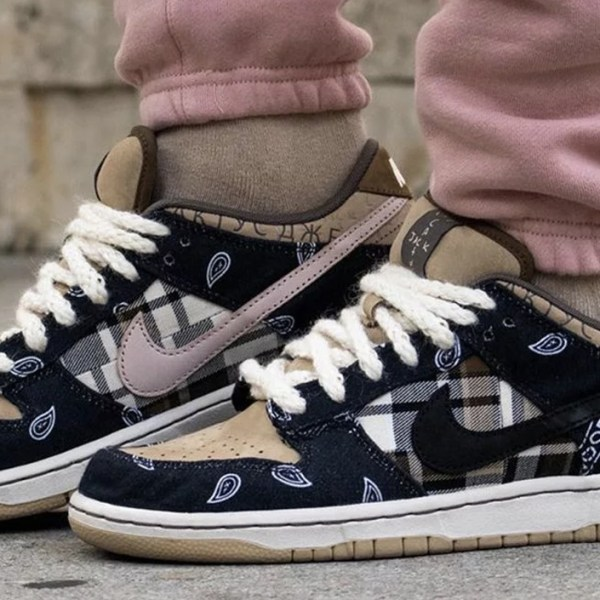 The Travis Scott x Nike SB Dunk Low gets a skate-shop release date