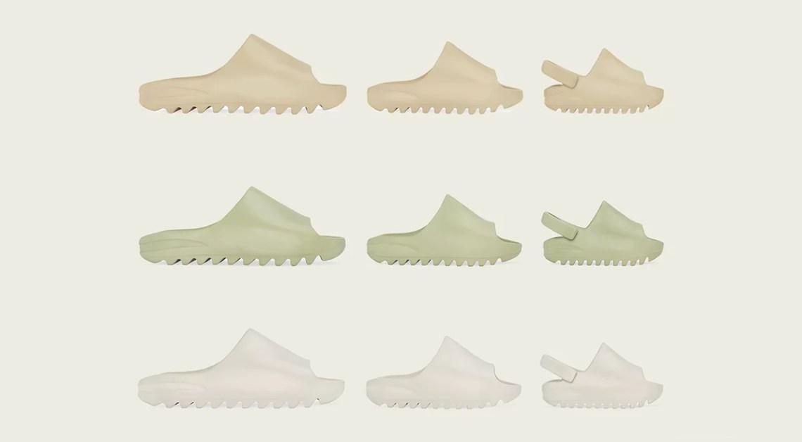 yeezy slide resin footwear drops April singapore details 2020