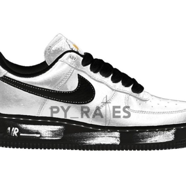 "G-Dragon and Nike will drop an inverted Air Force 1 ""Paranoise"" later this year"