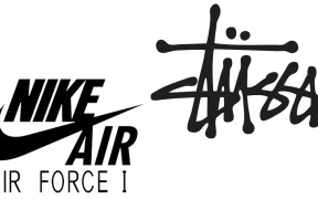 Stussy x Nike Air Force 1 logo