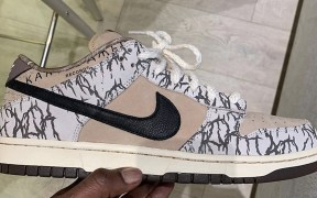 Travis Scott x Nike SB Dunk Low Instagram post