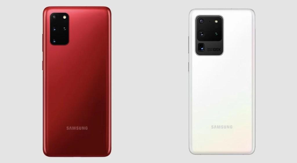 Samsung Galaxy Z Flip Thom Browne S20+ and S20 Ultra