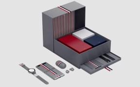 Samsung Galaxy Z Flip Thom Browne box set