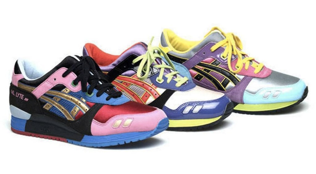 Asics Gel Lyte III collaborations David Z x Ronnie Fieg x Asics Gel Lyte III asics