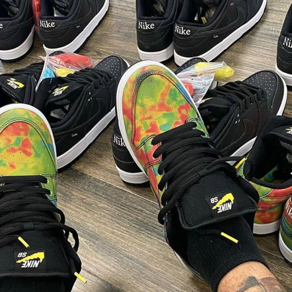 """Civilist brings on the heat with their upcoming Nike SB Dunk Low """"Thermography"""""""