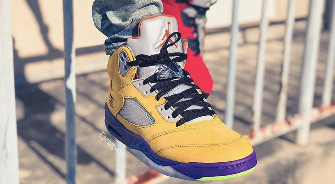 "Air Jordan 5 ""What The"" Drops On November 11"