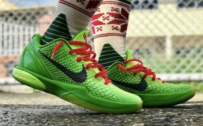 The Kobe 6 Protro Grinch Returns On December 24