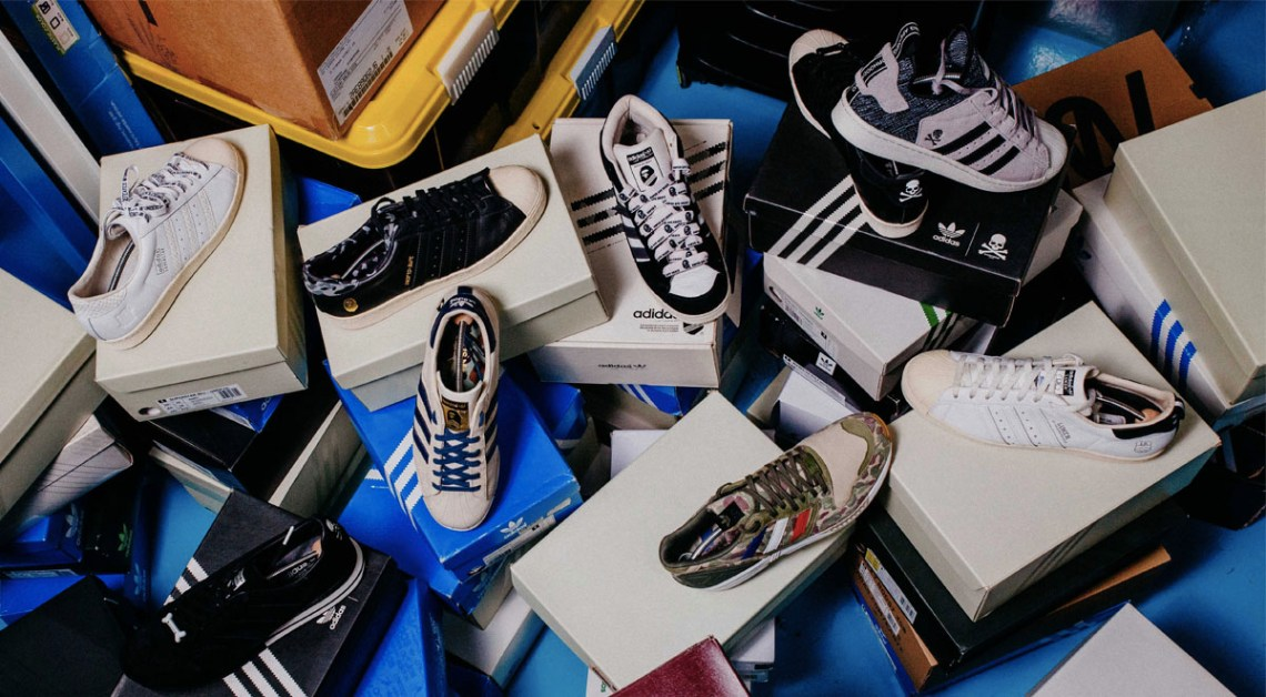 Straat Your Stuff: adidas Collector & Connoisseur Iqbal Arshad
